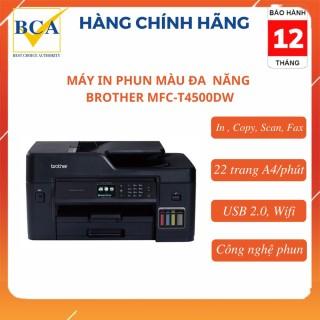 Máy in phun màu đa chức năng Brother MFC-T4500DW (In, Copy, Scan, Fax) thumbnail