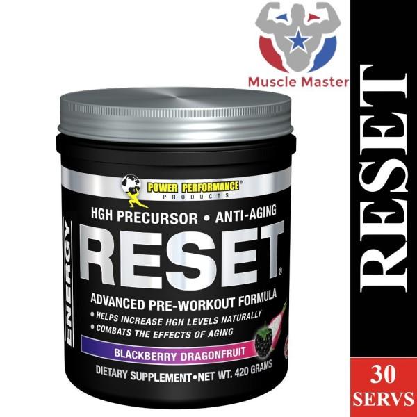 Thực Phẩm Tăng HGH và Chống Lão Hóa Pre Workout Reset 30 Lần Dùng