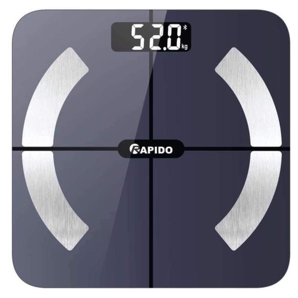 Cân sức khỏe thông minh Rapido RSB02-S (Có bluetooth) nhập khẩu