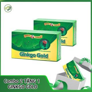 COMBO 2 hộp bổ não, tăng cường trí nhớ - Ginkgo Gold - Robinson Pharma USA - hộp 30 viên TẶNG 1 hộp thumbnail