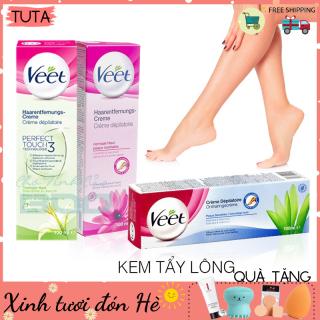 TUTA - Kem tẩy lông cho da nhạy cảm Veet hiệu quả an toàn tại nhà KTL-1 thumbnail