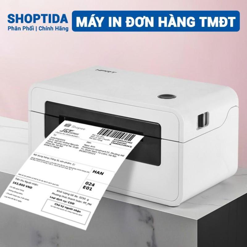 Máy in đơn hàng TMĐT Shoptida-HPRT N41 In siêu nhanh tiết kiệm thời gian, sử dụng giấy in tem tiêu chuẩn - HPRT-N41 shop revolstore+ COMPO GIẤY IN 500 TỜ