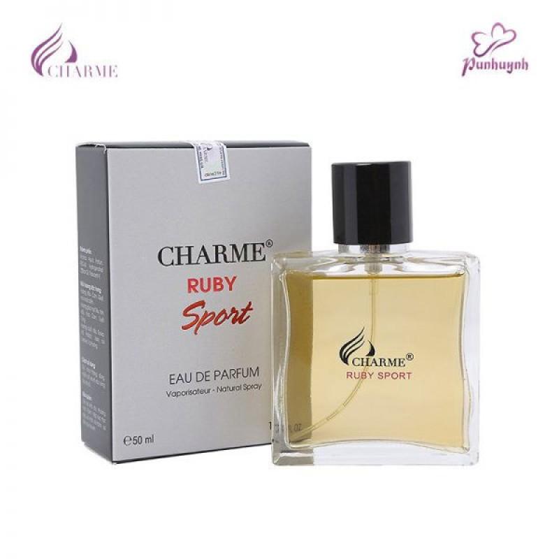 Nước hoa Charme Ruby Sport 50ml mùi nam nhập khẩu