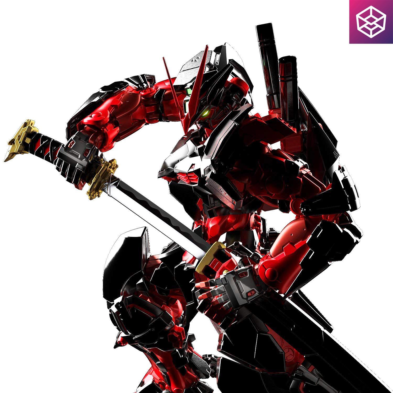 Mô Hình Lắp Ráp Gundam Bandai Hrm Gundam Astray Red Frame [gdb] [bhrm] By Box8.