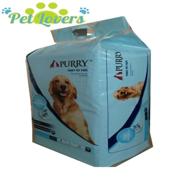Purry - Giấy lót khay vệ sinh cho chó Purry (33*45cm) 100 miếng