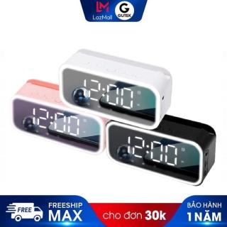 Loa bluetooth đồng hồ báo thức không dây Gutek G15 kiêm đèn ngủ âm thanh hay thumbnail