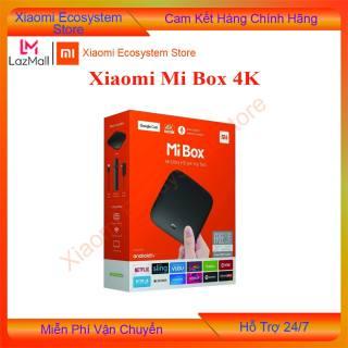 [BẢN Q TẾ] Xiaomi Mi Box 4K Global | đầu Android TV Box | tivi box, mibox | tv box xiaomi, Xiaomi mibox  | Hỗ trợ tìm kiếm bằng giọng nói, có kèm điều khiển Kết nối Wifi  Bluetooth 4.2 | XIAOMI ECOSYSTEM STORE