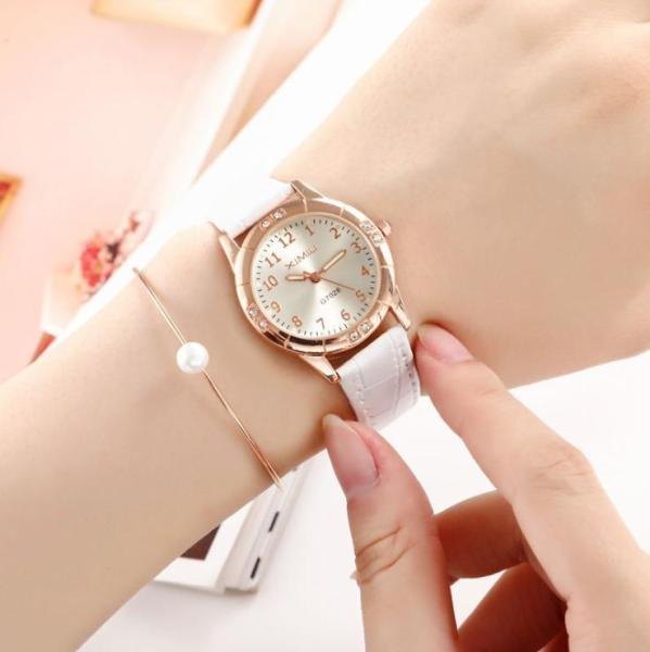 Nơi bán [SIÊU HOT] Đồng hồ nữ dây da đính đá tuyệt đẹp,mặt phản quang ban đêm, quà tặng tuyệt vời, sản phẩm mới 2019