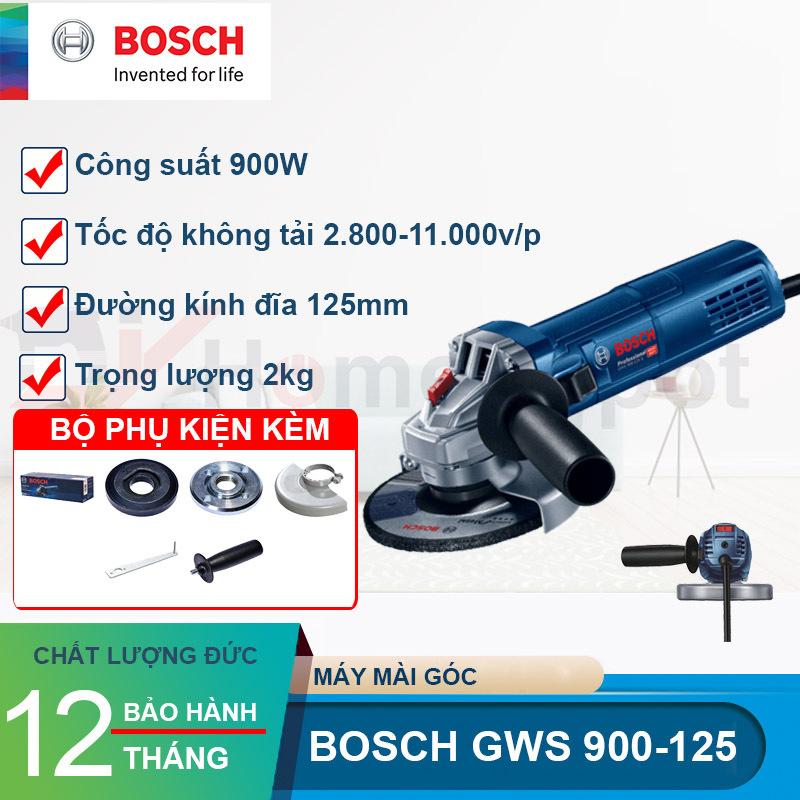 Máy mài góc GWS 900-125S (Điều chỉnh tốc độ) Công suất 900W