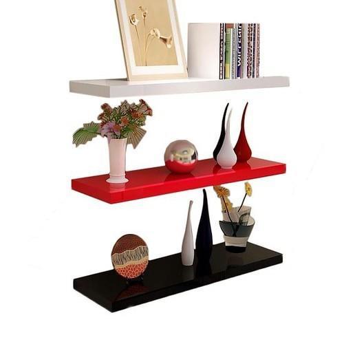 01 Thanh Kệ treo tường đa năng làm đẹp mọi không gian nhà bạn, lắp ráp cực kỳ dể dàng, nhiều màu sắc lựa chọn Ngotico