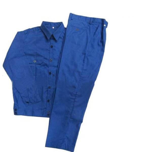 Bộ Quần áo Bảo Hộ Lao Động Màu Xanh Công Nhân