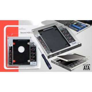 Caddy Bay sata , Caddy Bay Mỏng , Dày , Laptop , 9.5mm , 12.7mm ,Box chuyển đổi cd room sang ssd , ,Khay mở rộng ổ cứng mới nhất 2020 thumbnail