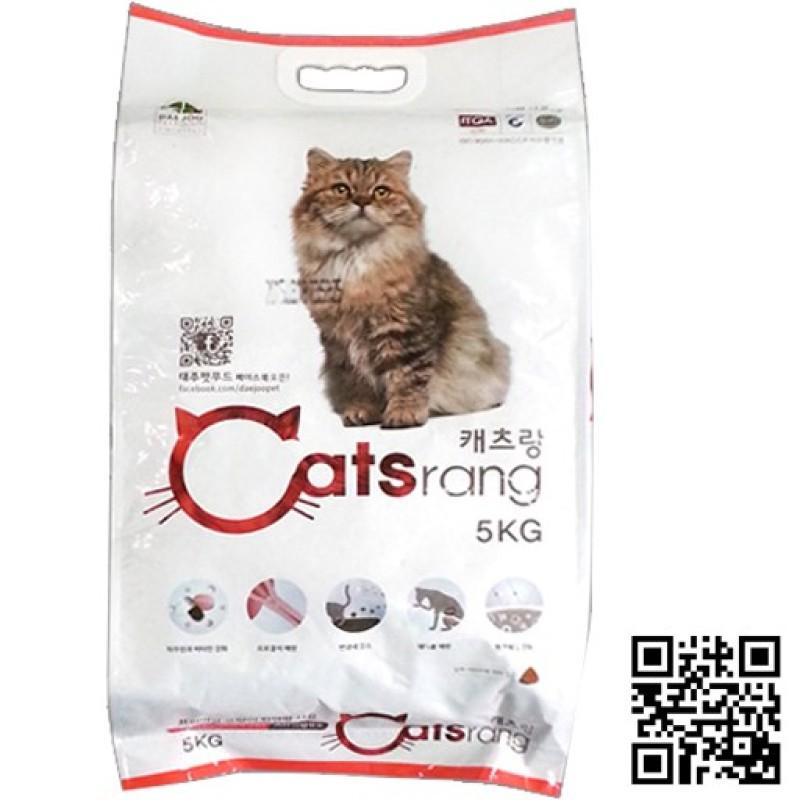 Thức Ăn Hạt Khô Cho Mèo CATSRANG Hàn Quốc Bao 5kg