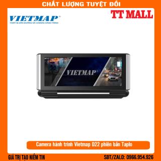 Camera hành trình Vietmap D22 Phiên bản màn hình TAPPLO Trợ lý lái xe đa năng - Cảnh báo ADAS Tặng thẻ + sim 3G Miễn phí thumbnail
