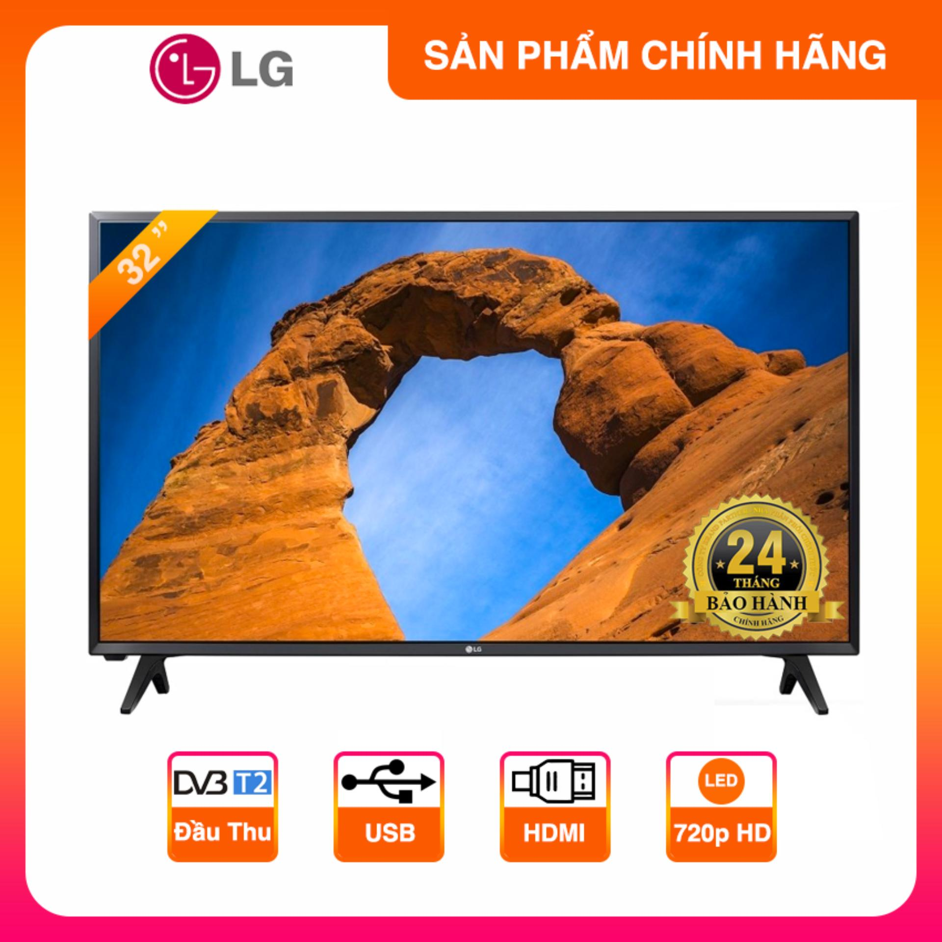 Tivi Led LG 32 inch HD - Model 32LK500BPTA (Đen)