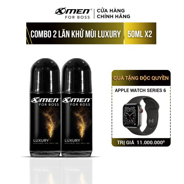 Combo 2 Lăn khử mùi X-men For Boss 50ml - Hương Luxury cao cấp