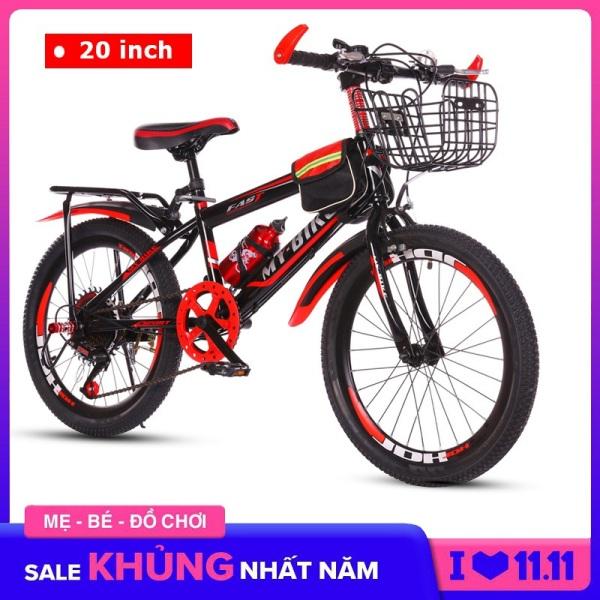 Mua Xe đạp trẻ em, xe đạp thể thao Size 20 inch cho bé từ 6-13 tuổi Có giỏ, gác baga và bình nước