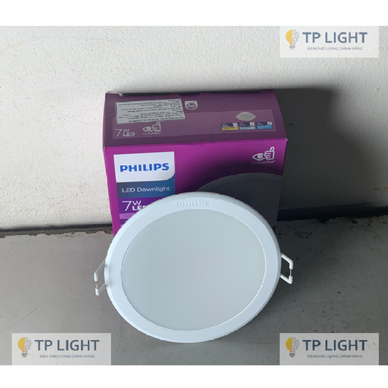 Đèn âm trần PHILIPS LED MESON G3 (594xx) - HÀNG CHÍNH HÃNG ( ánh sáng đồng đều , giá cạnh tranh )