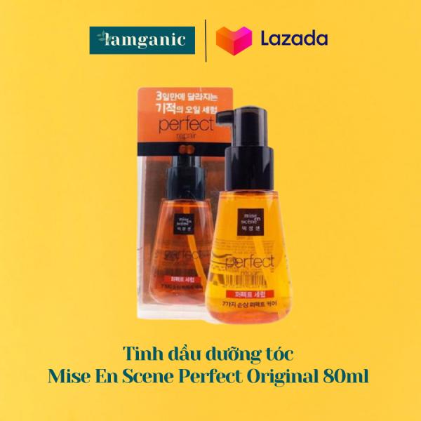 Tinh Dầu Dưỡng Tóc Mise En Scene Perfect Repair Hair Serum - phục hồi tóc, chiết xuất tinh dầu Argan từ thiên nhiên - Original Edition nhập khẩu