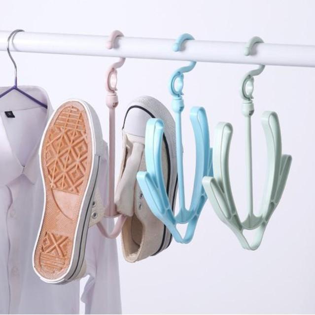 Móc Treo, Phơi Giày Dép Đa Năng Xoay 360 Độ Thông Minh giá rẻ