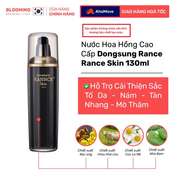 Nước hoa hồng dưỡng trắng, giảm thâm nám DONGSUNG RANNCE Skin 130ml
