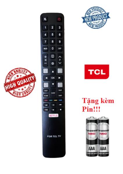 Điều khiển tivi TCL các dòng CRT LCD LED Smart TV- Hàng tốt Tặng kèm Pin