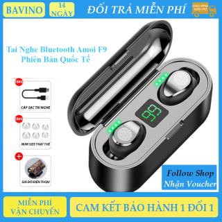 Tai Nghe Bluetooth 5.0 Amoi F9 ( Nội Địa Và Quốc Tế ), điều khiển cảm ứng, chống ồn, âm thanh HIRES, chống thấm mồ hôi, tương thích hệ điều hành, thumbnail