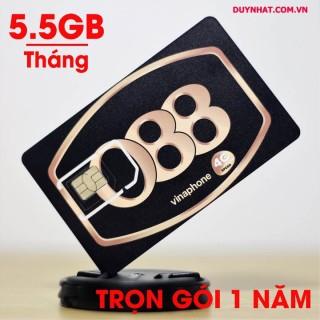 Sim Ezcom Vinaphone D500 trọn gói 1 năm (5 Gb tốc độ cao tháng) thumbnail