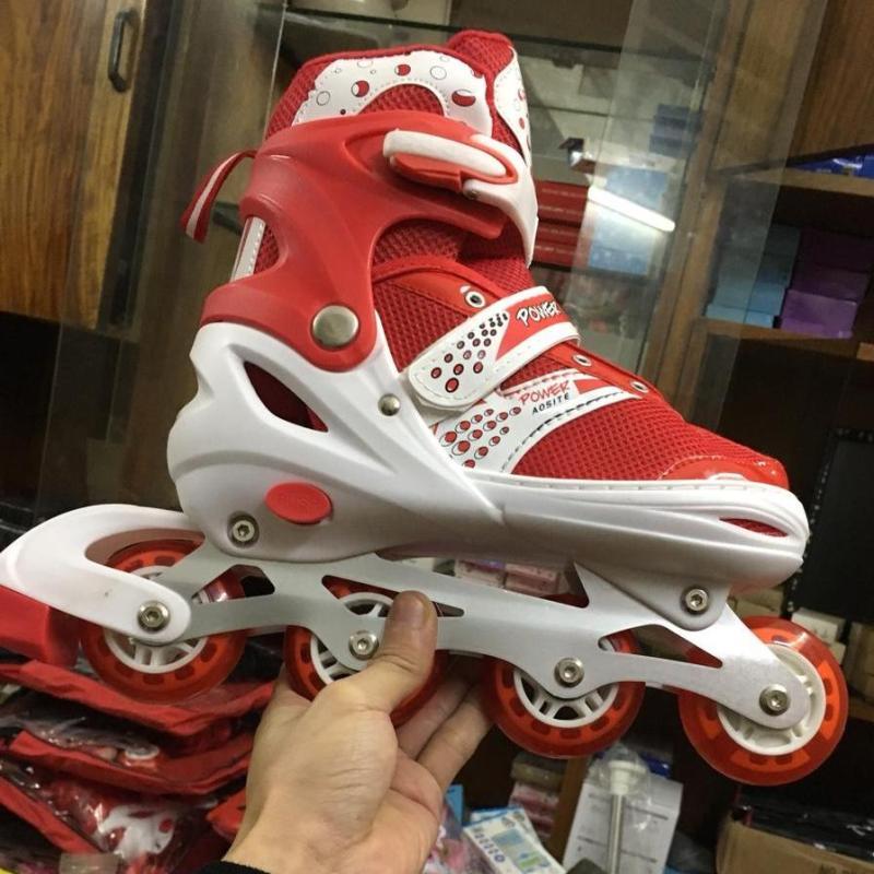 Phân phối Giầy trượt patin có đèn Flash phát sáng (xanh, đỏ, hồng)