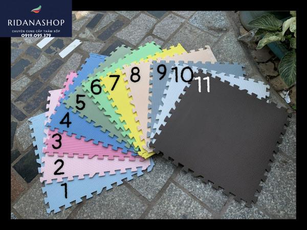 Thảm xốp lót sàn kích thước 60cmx60cmx1cm