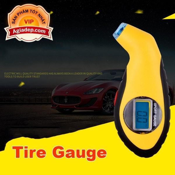 Đồng hồ đo áp suất lốp độ chính xác cao Tire Gauge - Chínhhãng nhập khẩu bởi Agiadep