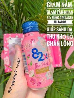 Nước Uống Bảo Vệ Sức Khỏe 82x The Pink Collagen Nhật Bản thumbnail