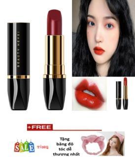 Son Nữ cao cấp HEY XI 100% tự nhiên, không chì,sản phẩm cao cấp cho phái đẹp + Tặng băng đô tóc thời trang thumbnail