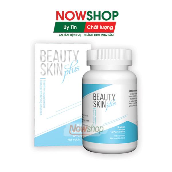 [FreeShip 10k] Viên uống đẹp da, bổ sung Collagen, hỗ trợ giảm nám, chống nắng và cải thiện nội tiết tố nữ, giúp trắng da beauty skin plus