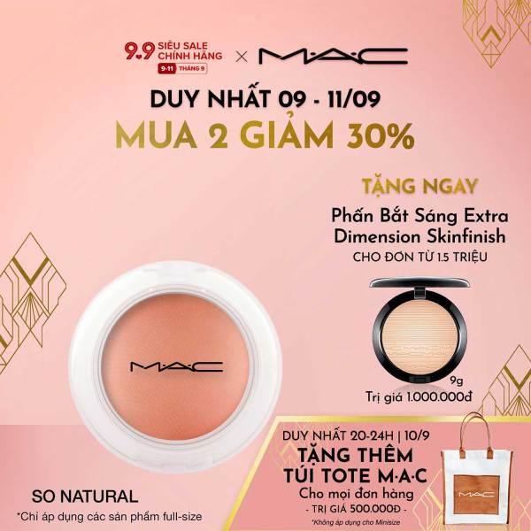[9.9-11.9  MUA 2 GIẢM 30%] Phấn Má Hồng Kem MAC Glow Play Blush 7.3g giá rẻ