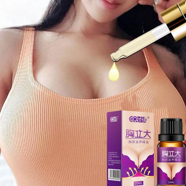 MeiYanQiong Tinh dầu nở ngực làm săn chắc nâng kích cỡ thần kỳ cho vùng ngực chiết xuất tự nhiên hoa Lavender, nâng ngực, nở ngực, giúp săn chắc da sau khi sinh.