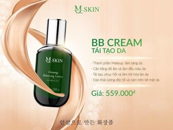 BB CREAM thay da Mq skin tái tạo dưỡng da căng bóng make up thay da chống nắng xóa nám thâm sạm da không đều màu 30ml (mới)