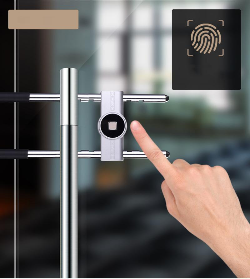 Ổ khóa điện tử chống trộm thông minh mở khóa vân tay, mở khóa qua điện thoại