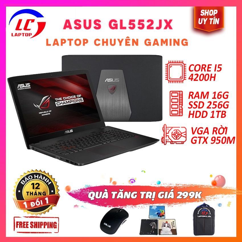 Laptop Asus Gl552Jx Khủng Long Game Core I5-4200H Vga Nvidia Gtx 950M Màn 15.6 In Fhd 1920X1080 Laptop Game Laptoplc Giá Rẻ Nhất Thị Trường