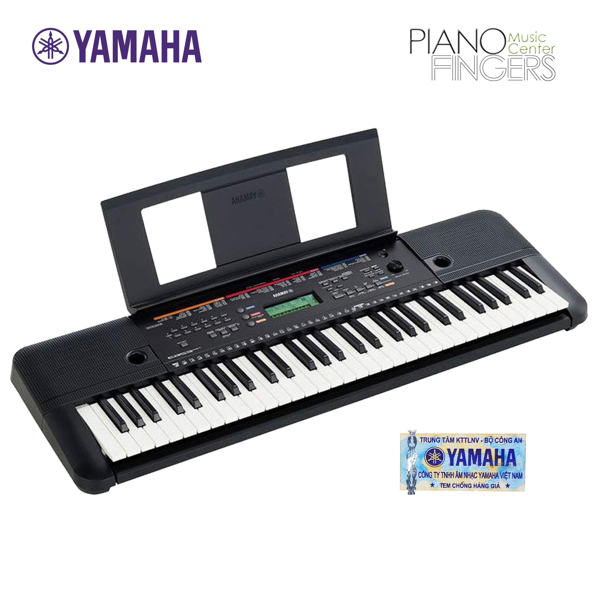 Organ Yamaha PSR-E263 + Adaptor - Piano Fingers
