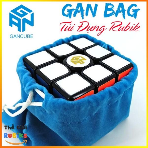 Gan Bag Túi Vải Flannel Mềm Đựng Rubik - Phụ kiện Rubic