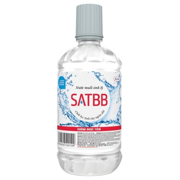 Nước muối sinh lý 1000ml (1 lít) cao cấp