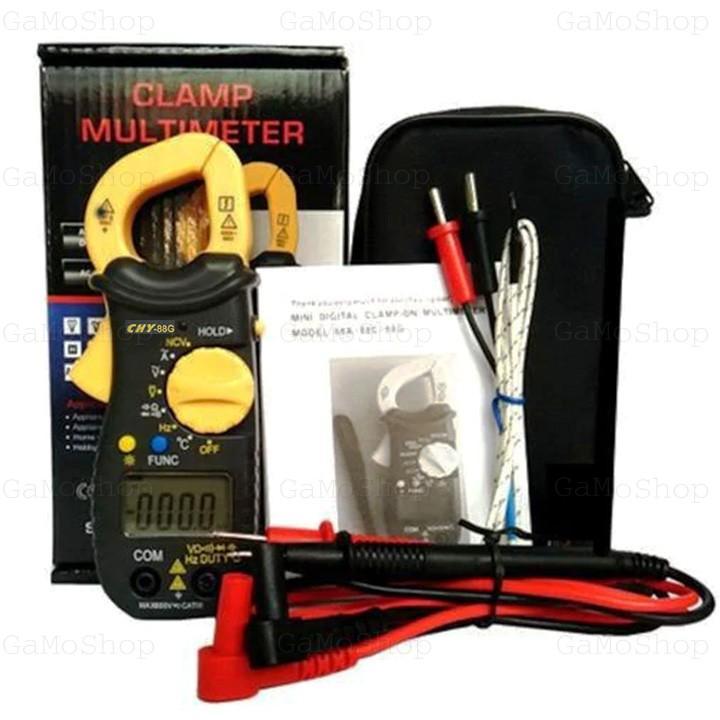 Ampe kìm mini bỏ túi CHY 88G chức năng NCV ,đo tụ, nhiệt độ, tần số Hz