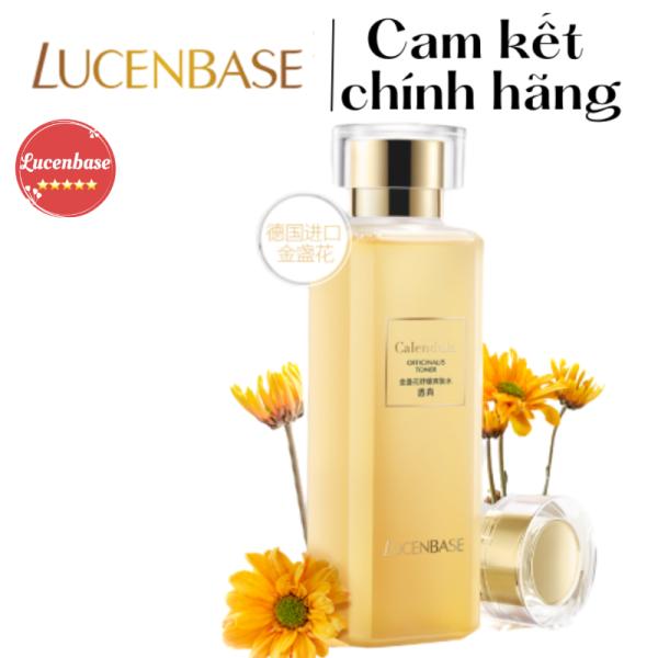 Toner hoa cúc Lucenbase làm dịu da se lỗ chân lông, kháng viêm, cung cấp độ ẩm, giúp da tươi mát, ẩm ướt, căng tràn sức sống chính hãng lucenbase 180ml