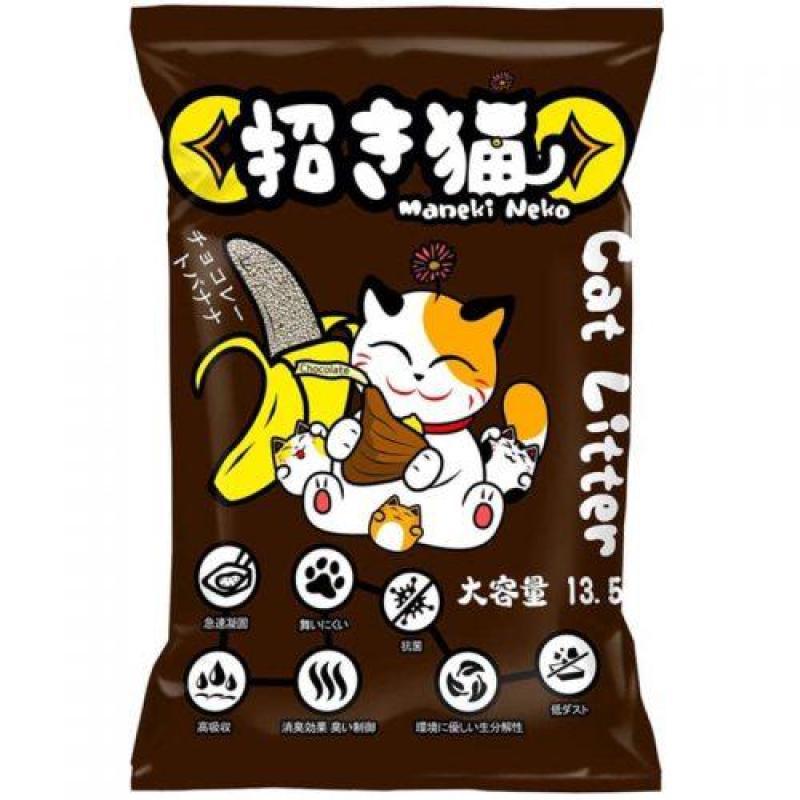 Cát Vệ Sinh Mèo Nhật Bản Maneki Neko 5L