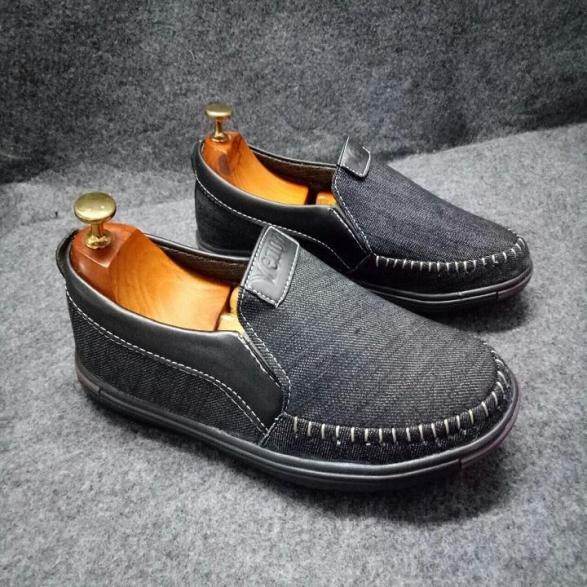 Giày lười nam - giày lười nam vải bô X86fashion-VB01 giá rẻ