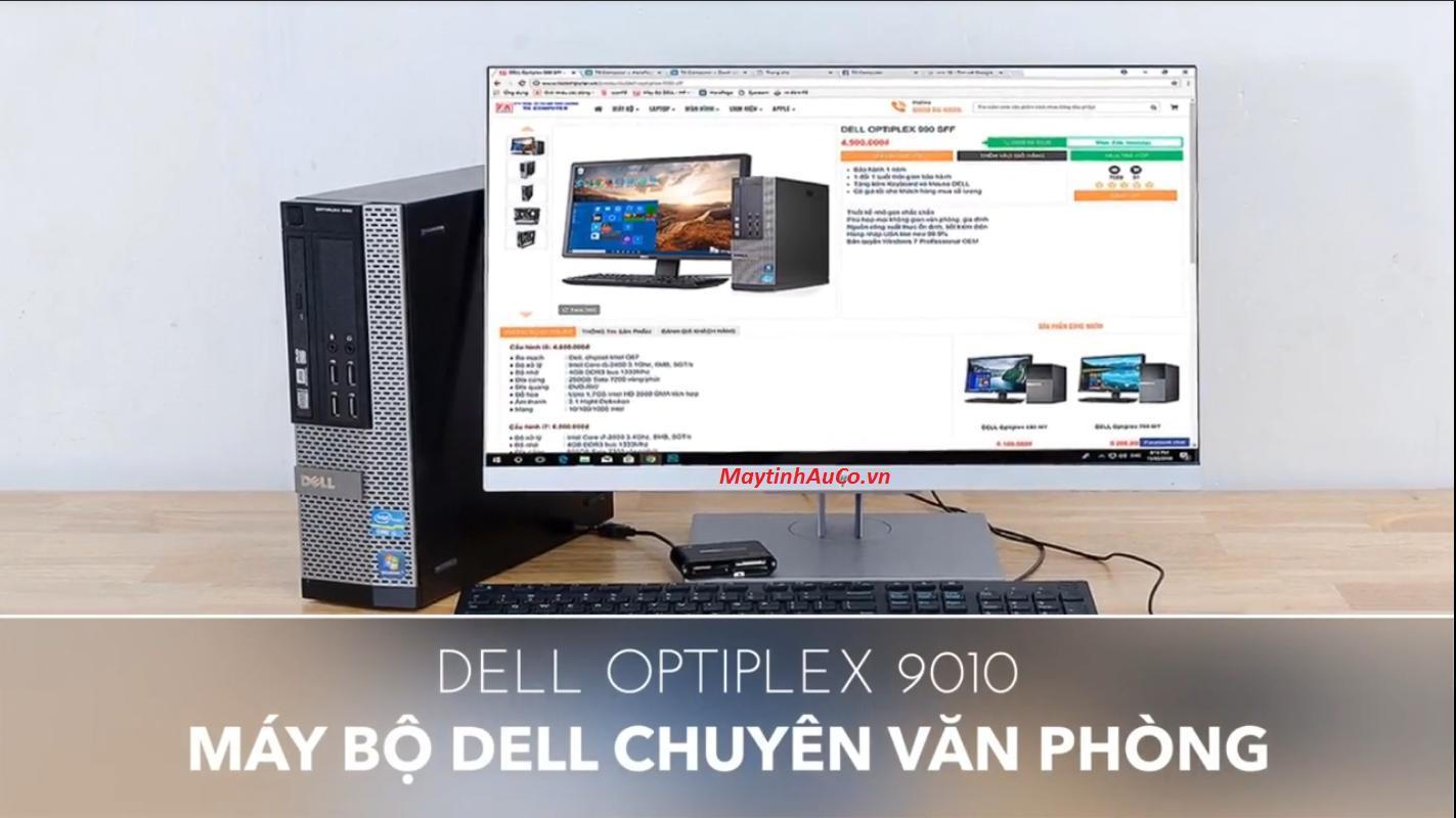 Bộ Máy tính Đồng Bộ Dell Optiplex 9010 ( Core i3 3220 / 4G / 500G )  Màn Hình 18.5  Wide Led - Hàng Nhập Khẩu