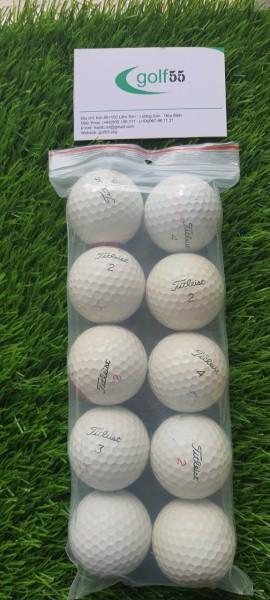 10 quả bóng golf titleist prov 1 prov1x độ mới 50%