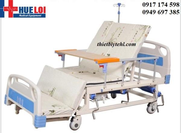 Giường Bệnh 4 Tay Quay Đầy Đủ Chức Năng - Giường Y Tế - Giường Bệnh Nhân