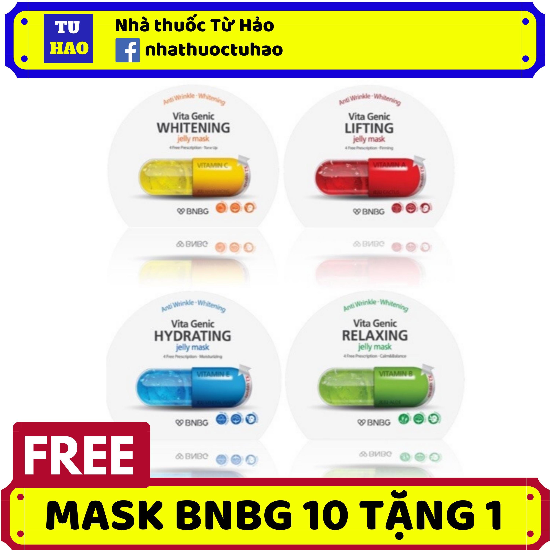 (10 TẶNG 1) Mặt Nạ BNBG Mặt Nạ Dưỡng Da BNBG Vita Genic Jelly Mask